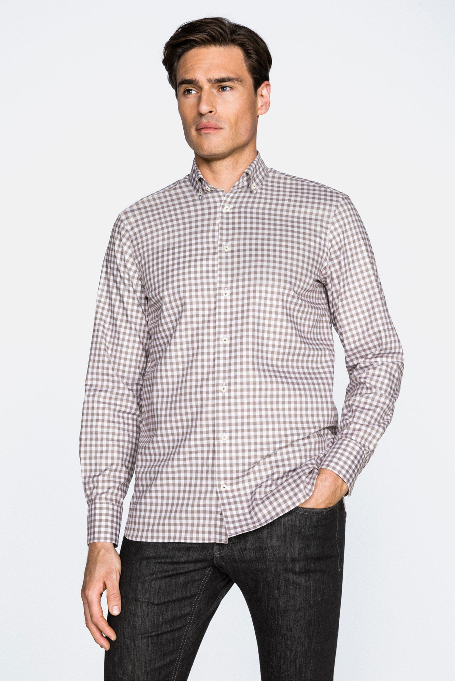 Casual Shirts+ROJAN-TFN+35.3133.BN.161952.160.45