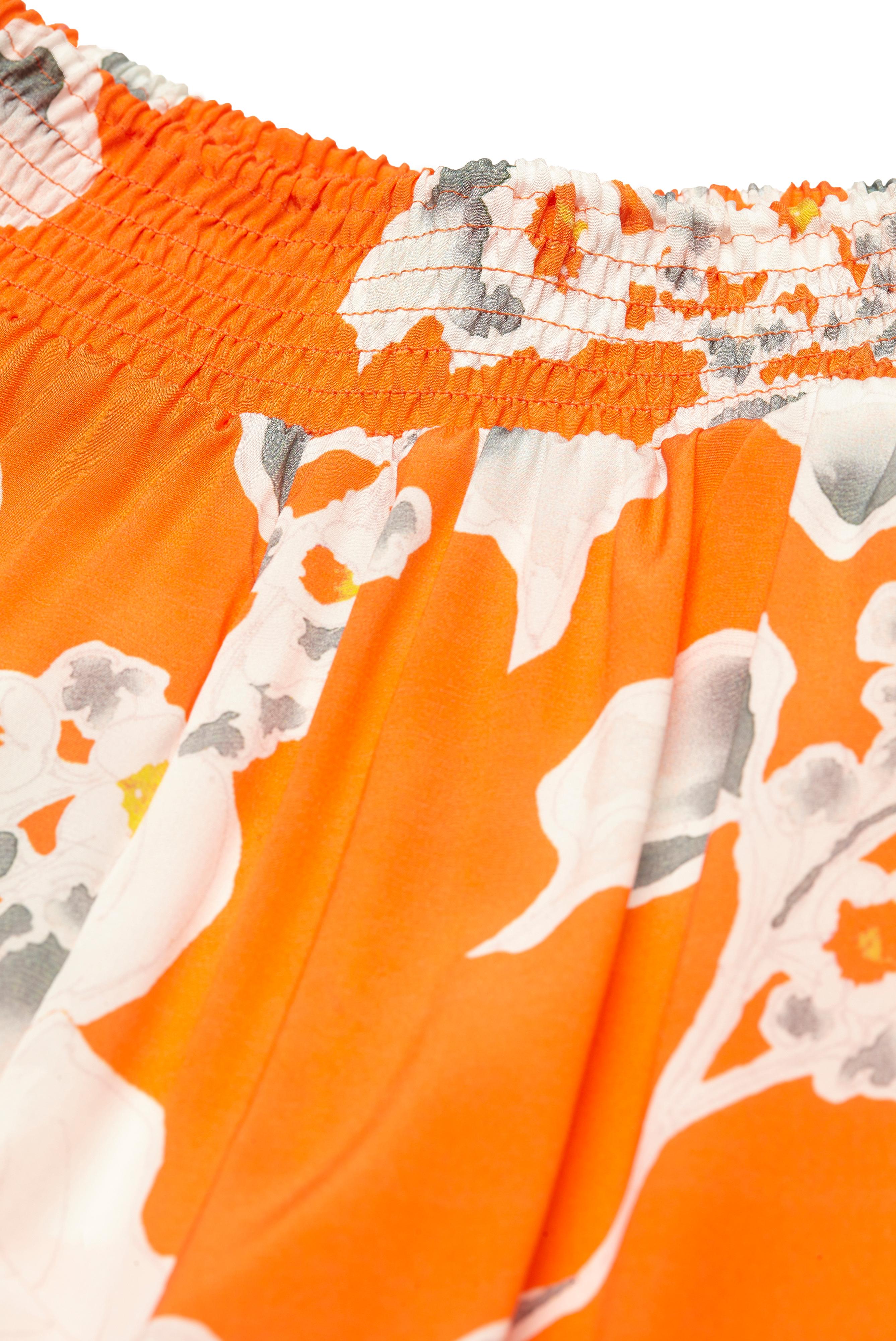 Sale+M-Halea - Palazzo trousers in apple blossom print+05.652S..171699.350.34