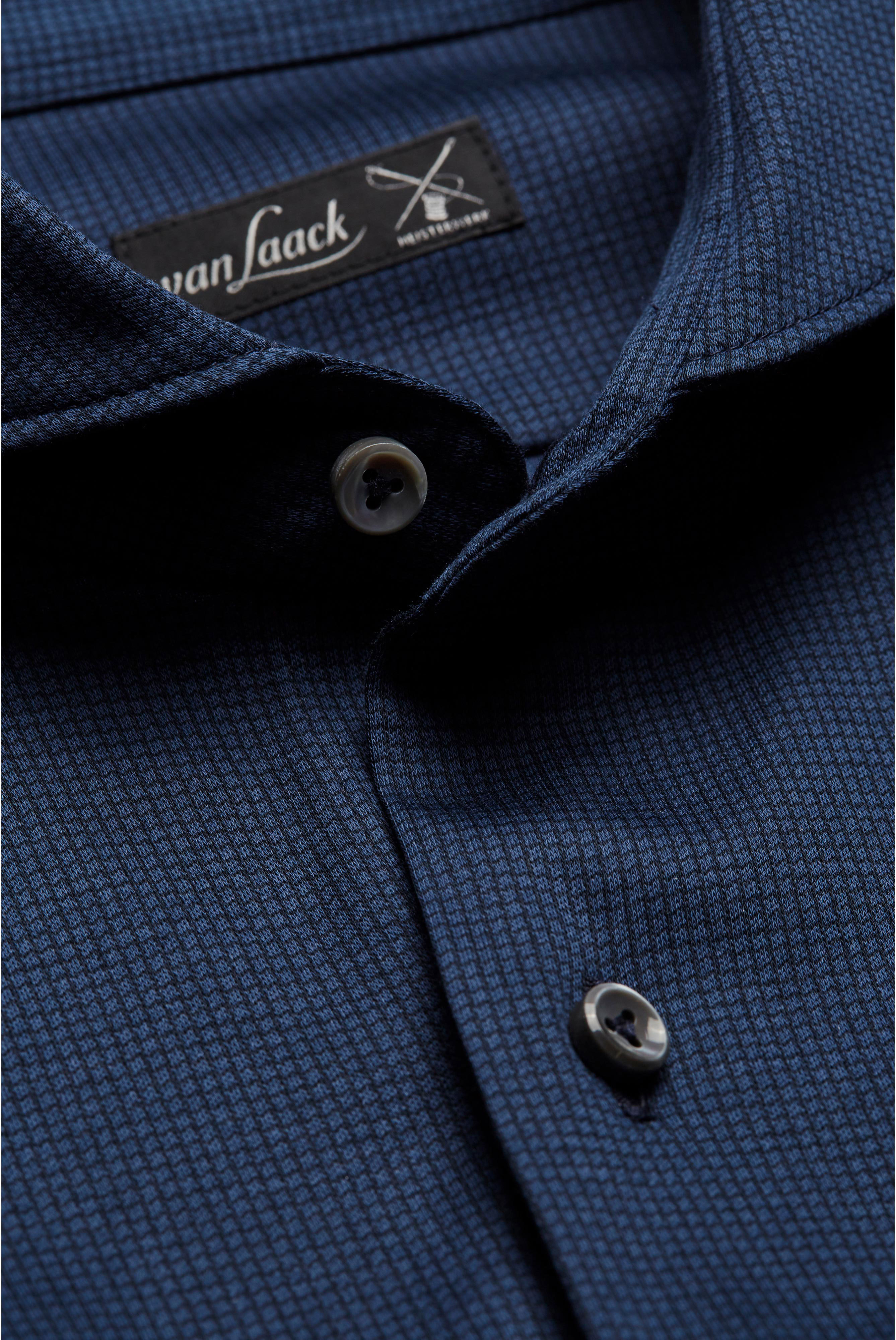 Neuheiten+Elegantes Jersey Hemd aus Baumwolle Tailor Fit Blau+20.1683.UC.187056.770.X3L