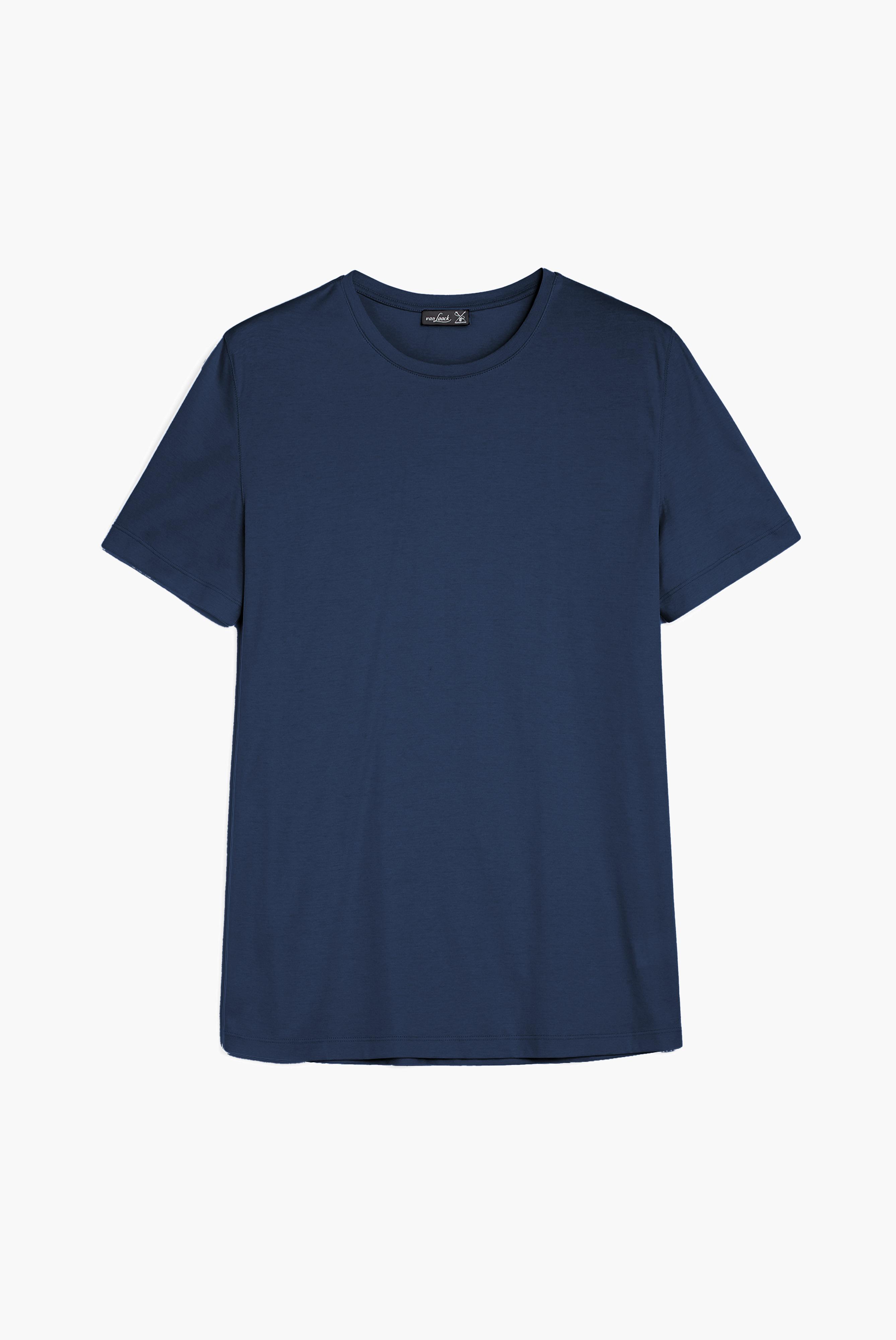 Neuheiten+Luxuriöses Jersey T-Shirt blau+20.1717.UX.180031.770.S